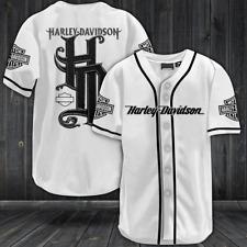 HARLEY-DAVIDSON All Over Print Baseball Jersey S-5XL