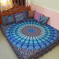 Indian Duvet Doona Cover Multi color Mandala Bohemian New size Cotton Quilt