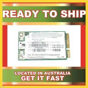 GENUINE HP 3945ABG INTEL MINI PCI 802.11A/ B/ G WiFi WLAN CARD 407674-001