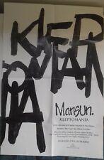 Mansun Kleptomania promo poster folded new