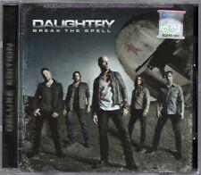 DAUGHTRY Break The Spell 2011 MALAYSIA DELUXE CD + 4 BONUS TRX NEW FREE SHIPMENT