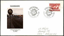 Denmark 1982 Customs Service FDC First Day Cover #C40888