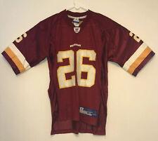 Washington Redskins Clinton Portis #26 Football Jersey NFL Reebok Medium Mens