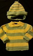 Baby Girl or Boy Striped Sweater 18 months The Children's Place