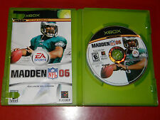 Madden NFL 06 (Xbox) COMPLETE - Cleaned & Tested