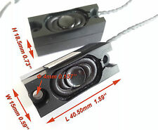 2pcs New 1.5W 4 Ω Mini Speaker Loudspeaker Boxes Buzzer 1.59''x0.59''x0.73''