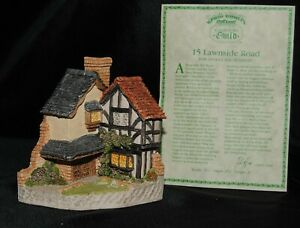 David Winter Cottages Collectors Guild 15 Lawnside Road With Coa