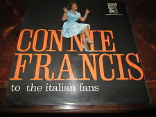 CONNIE FRANCIS TO THE ITALIAN FANS MGM EM 100 1959 ITALY LP UNPLAYED