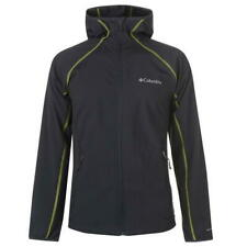 Columbia Whisper Softshell Jacket Mens Grey Full Zip UK size Small *REF140