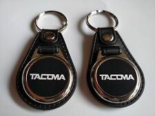 TOYOTA TACOMA KEYCHAIN 2 PACK FOB TRUCK LOGO BLACK
