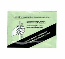 Hirschmann Aerial Antenna Cleaning Tissue Wipes x 12