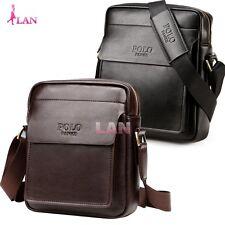 Mens Genuine Leather Shoulder Bags Mans Handbag Messenger Briefcase Small Bag