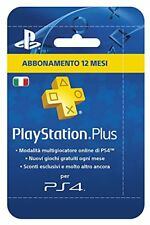 Plus Card Hang abbonamento 12 mesi Playstation Sony Entertainment PSN PS