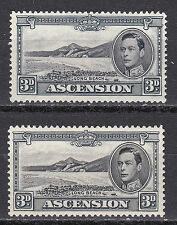 Multiple Ascension Island Stamps