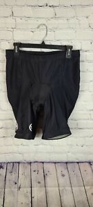 Canari Cycling Padded Bicycle Cycling Shorts Black & Pink #109814 Size large