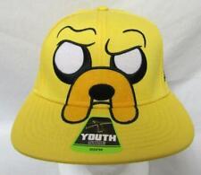 "Adventure Time Youth OSFM Snapback ""Big Face Jake"" Baseball Cap Hat E1 626"