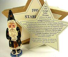 VAILLANCOURT STAR BELSNICKEL #6 Starlight Santa, 1995, #166, VFA#7730STAR8