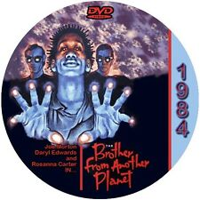 """The Brother from Another Planet (1984) Classic Sci-fi CULT """"B"""" NR Movie DVD"""