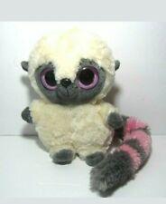 "Aurora Yoohoo And Friends Plush Lemur Pink Gray Tail  5"" Stuffed Animal Toy"