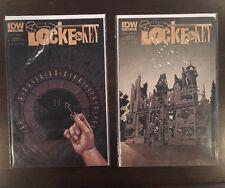 Locke & Key Alpha #1 2 ALL NM 9.4 JOE HILL GABRIEL RODRIGUEZ IDW COMICS