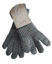 ZARA Boys Gloves Basics Kids Knit Steel Knitted S 3-6 y £7.99 Vintage Winter