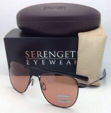 SERENGETI PHOTOCHROMIC Titanium Sunglasses Aerial 7975 Black Frames Drivers Lens