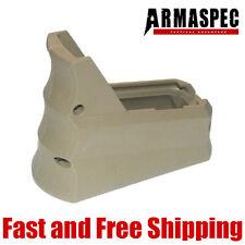Armaspec Rhino R-23 Tactical Magwell Grip w/Funnel Finger Groove Flat Dark Earth