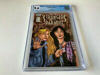 STRANGERS IN PARADISE 2 CGC 9.6 WHITE PAGES TERRY MOORE IMAGE HOMAGE COMICS