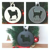 Personalised Pet Bauble/Custom Cat Ornament/Hanging Decoration/Christmas Gift