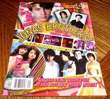 JONAS BROTHERS NICK KEVIN JOE FACES Magazine September 2008 Demi Selena Miley
