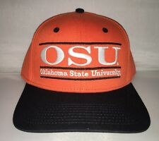 Vtg Oklahoma State Cowboys Snapback Hat Cap The Game Bar Ncaa College
