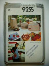 Strawberry Kitchen toaster blender covers apron pot holders  pattern 9255 uncut