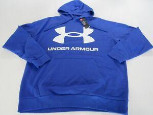 Under Armour Mens Rival Fleece Big Logo Hoodie 1357093 Nwt