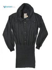 ^NWT!   $575 DIESEL Diesel Women Shirt Dress LE 65DL016 NAVY SIZE EU 38