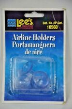 Airline Suction Cup Aquarium Air Tubing Holders Lee's 6 Piece Pack Brand Unused