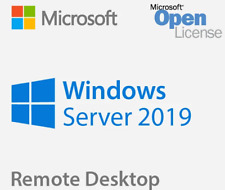 Server 2019 Standard + Remote Desktop Services 50 RDS User/Device CALs