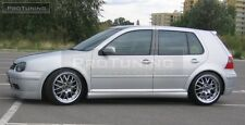 VW Golf IV Side Skirts Jubi look GTI 25th anniversary look sideskirts,3 5 Door