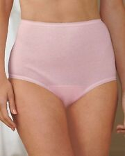 WEAREVER Polyester/Cotton Sanitary Full-Cut Pink Brief Size XL