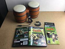 Donkey Konga Jungle Beat Pak juego controlador Bongos Nintendo Gamecube