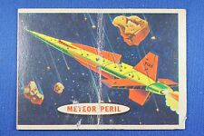 1957 Topps Space Cards - #23 Meteor Peril - Fair/Good Condition