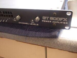 MATRIX GTFX 800 POWER AMPLIFIER  Fractal AXE FX  KEMPER ETC