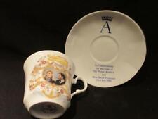 Prince Andrew & Sarah Ferguson 1986 Wedding Springfield China cup & saucer