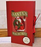 2018 Hallmark SANTA'S MAGIC KEY Special Gift Box Christmas in Evergreen Letters