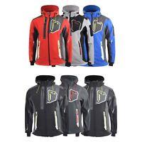 Mens Jacket Geographical Norway Softshell Toblard Outdoor Sport Coat(,)
