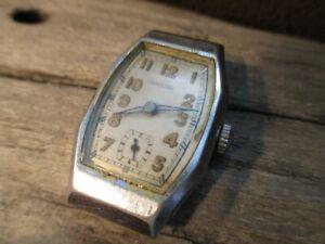 ANKRA vintage Uhr, Werk 320, kleine Sekunde, 40er Jahre, an Bastler