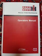 CASE IH MAXXUM 5120 5130 5140 5150 Schlepper Betriebsanleitung 9-27365Ge