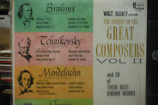 The Stories of the Great Composers Vol II (DISNEY) 33RPM 050616 TLJ