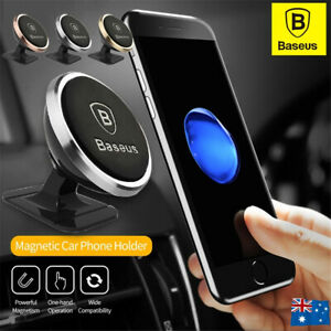 BASEUS 360° Cell Phone Holder Car Magnetic Mount Dashboard Universal GPS Stand