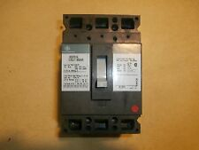 GE Industrial Circuit Breaker Cat# TED134015 15 Amp 480VAC-250VDC