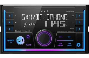 JVC KW-X840BTS Double 2 DIN Media MP3 Player Spotify Pandora SiriusXM Bluetooth